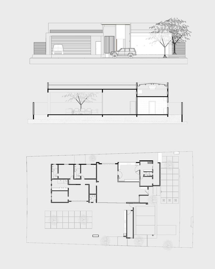 15 fachadas de casas modernas com plantas veja projetos for Fachadas de casas e interiores