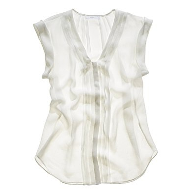 PleatsSilk Tops, Madewell 110, Blouses Tanks Sweat, Madewell Gorgeous, White Blouses, Fresh White, Madewell Silk, Wear, Fashion Sense