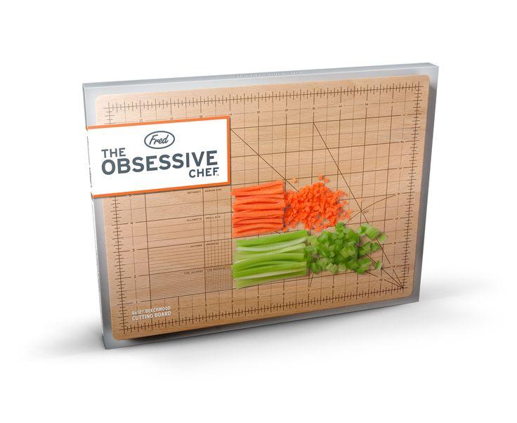 Fancy - The OCD Chef Cutting Board