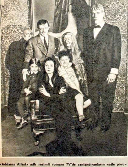 Addams ailesi Amerikan ABC televizyonunda 1964.