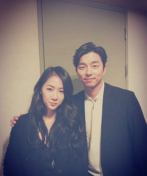 Sistar Soyou takes selfie with Gong Yoo, her ideal type @ HanCinema :: The Korean Movie and Drama Database
