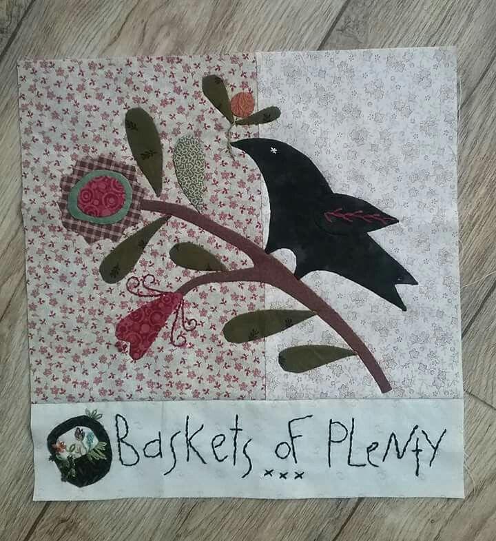 Final block Baskets of Plenty by Cheri Payne