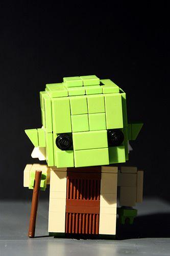 Lego Pop Figure: Yoda, by seb Toutouille, on Flickr