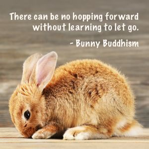 """See """"Loving, Losing, and Learning to Let Go"""" at BunnyBuddhism.com. Photo: Africa Studio/Shutterstock"""