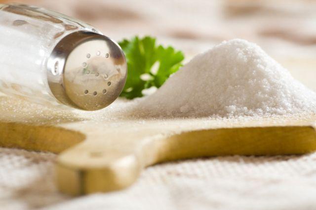 Sal sem sódio para controlar a pressão alta
