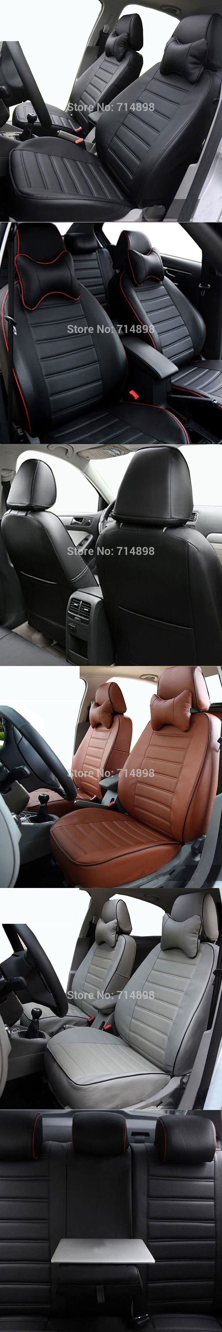car seat cover  pu leather  proper fit for VW Caddy Maxi 7 seater full set same structure and design four season auto seat cover