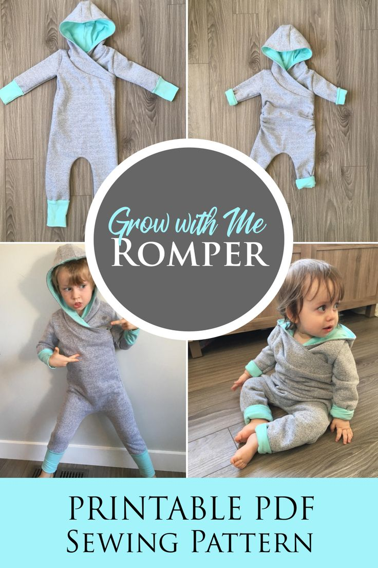 Apple Tree Grow On, Grow With Me Romper A4 SIZED PAPER, A4 Printable *A4 PDF Download* Size Adjustable Clothing for Kids Apple Tree Patterns 1