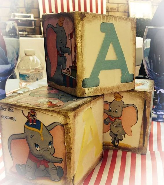 Dumbo Circus Baby Shower Party Ideas | Photo 6 of 29 | Catch My Party
