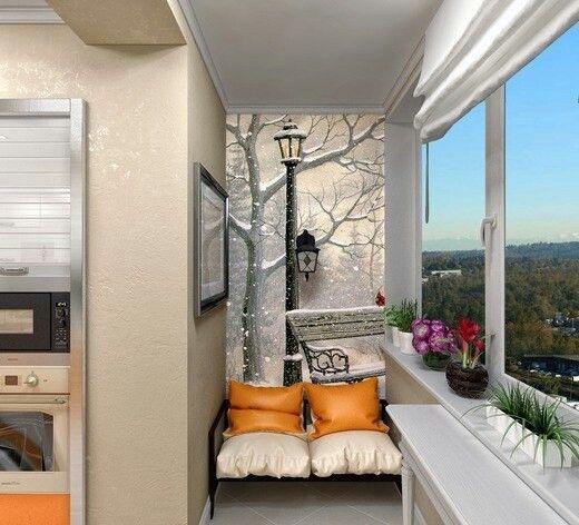Чудесный балкон