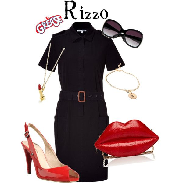 Rizzo - Grease, created by marybethschultz on Polyvore