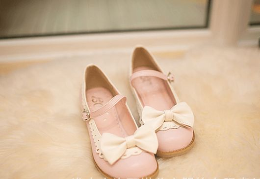 Harajuku Sweet Bow Flat Shoes SD00371