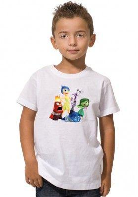 Camiseta Inside Out Personajes