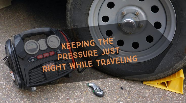 You probably don't spend much time thinking about your tires, especially the ones on your trailer or RV.  Having a properly inflated RV tire is not only safer, but it can also improve your gas mileage. This blog post describes what we do to maintain the proper pressure while we travel and how our cool compressor is handy for more things then just pumping up tires.