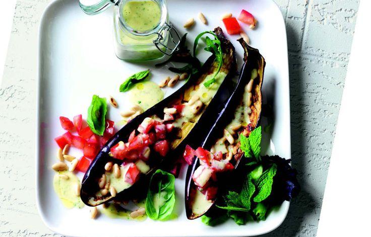 Ricetta Melanzane arrosto con vinaigrette ai pinoli - Le ricette de La Cucina Italiana