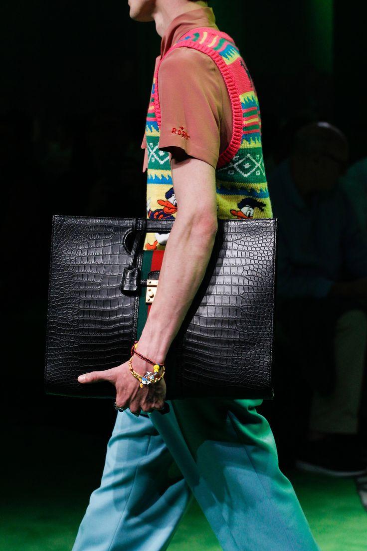 Gucci Spring 2017 Menswear Accessories Photos - Vogue