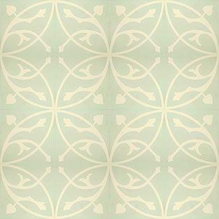 zementfliesen -> VN Oval Azule S5 - Designfliesen