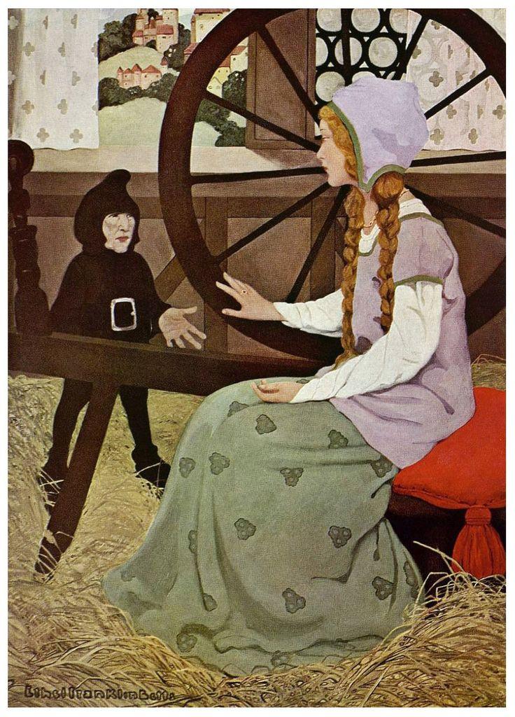 Rumpelstiltskin by Franklin Betts [©1909]