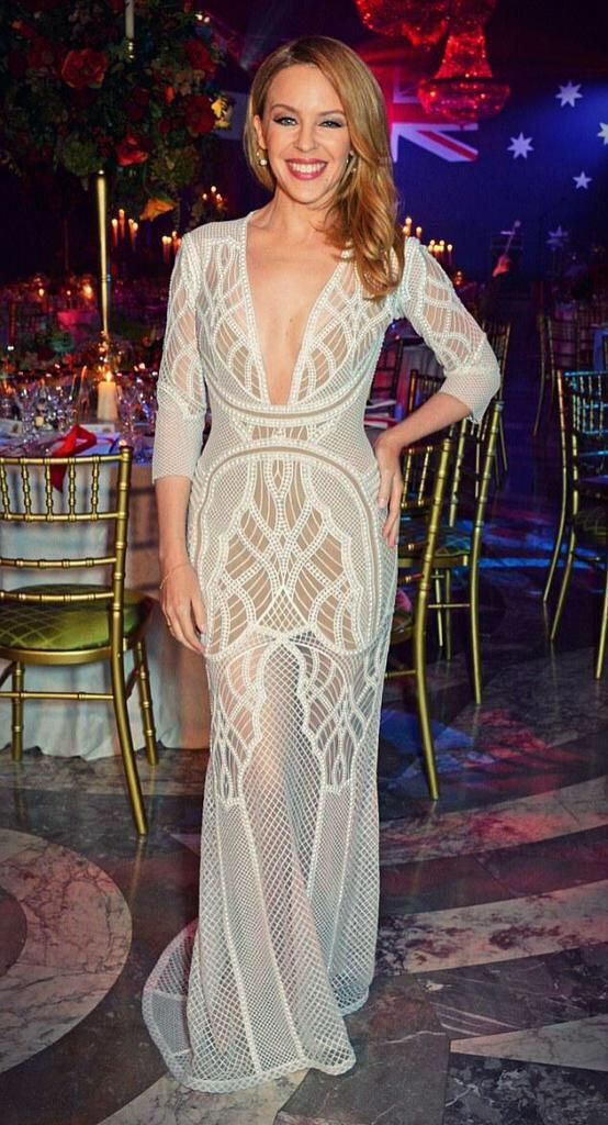 Kylie Minogue in J'Aton Couture