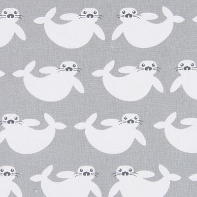 Cotton Sæl 7 - Bomuld - grå