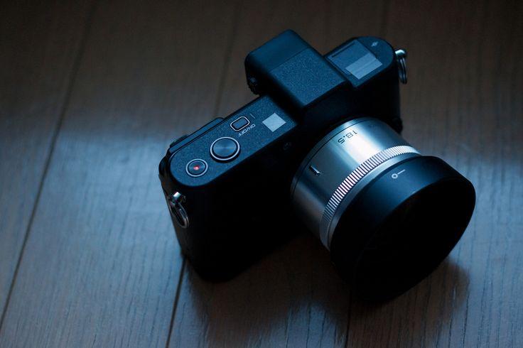 https://flic.kr/p/dxCEEz   18.5mm Fixed focal length lens.