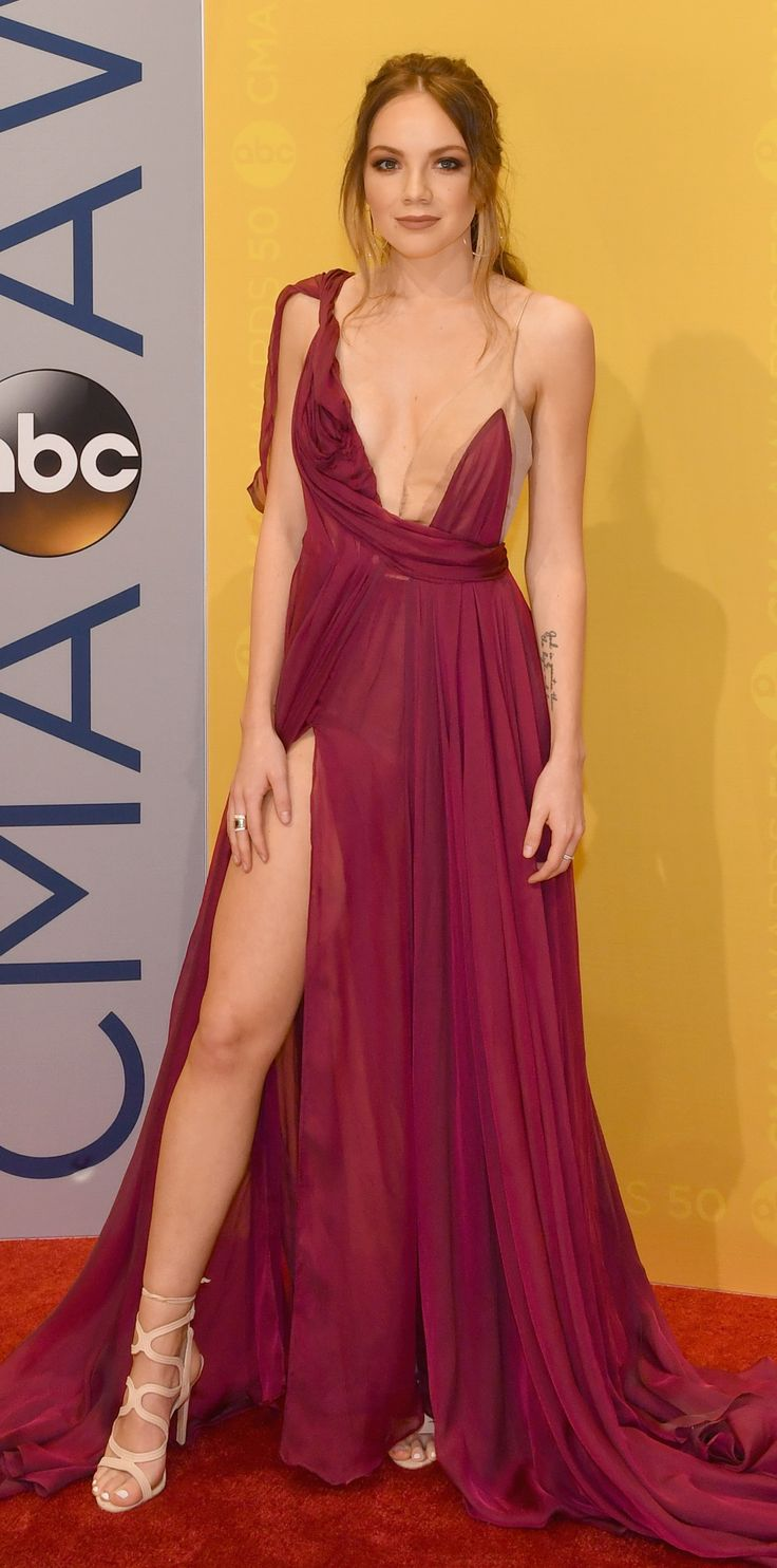 The Hottest Looks from the 2016 CMA Awards Red Carpet - Danielle Bradbery from InStyle.com