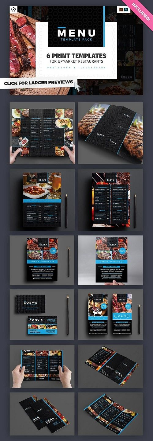 10 best Food Menu Templates images on Pinterest Cook, Font logo - free dinner menu templates