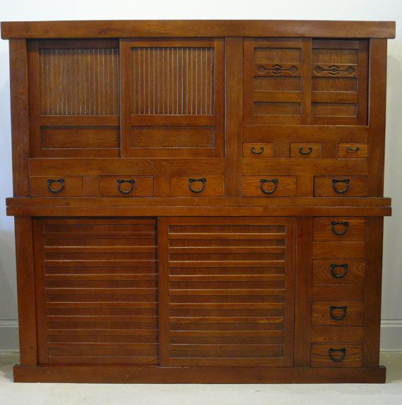 Japanese Style Mizuya Dansu or Kitchen Tansu by ThreeFriendsStudio, $2500.00