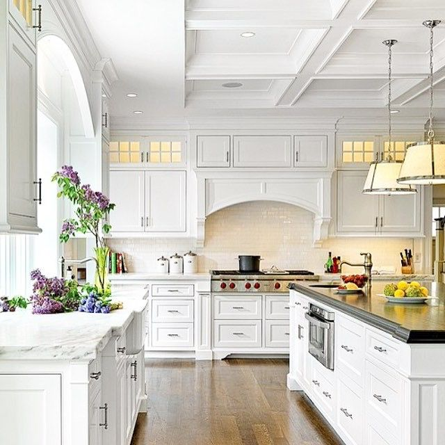 Dream Kitchen. White Kitchen