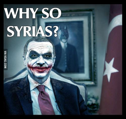 Minister Erdogan wants U.N to attack Syria more than everyone.