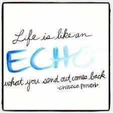 Výsledek obrázku pro Life is like echo