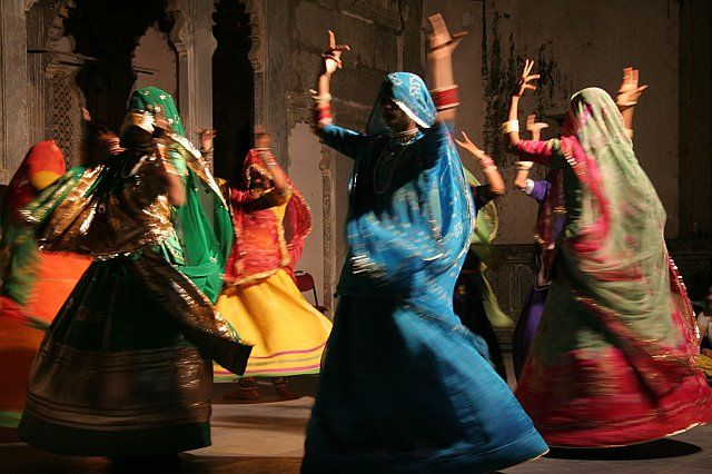 Garba - one of the Indian Dance Form performed at navratri and weddings