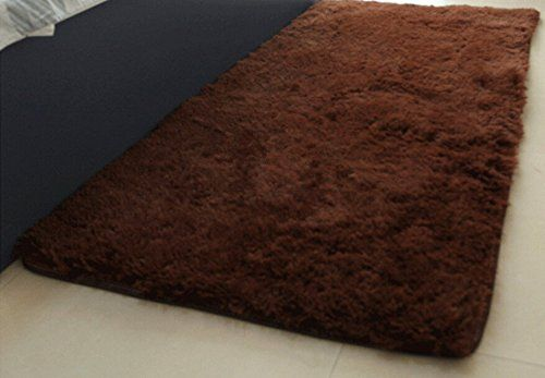 Coffee Color Soft Fur Room Rugs Floor Area Rug Door Mat Bedroom Home Carpet Size 60160 Cm -- More info could be found at the image url.