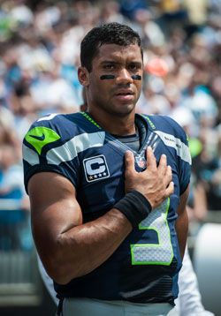 Confidence comes naturally for Russell Wilson