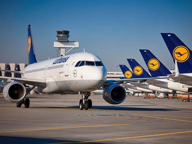 Trafic Lufthansa : -0,1% en octobre