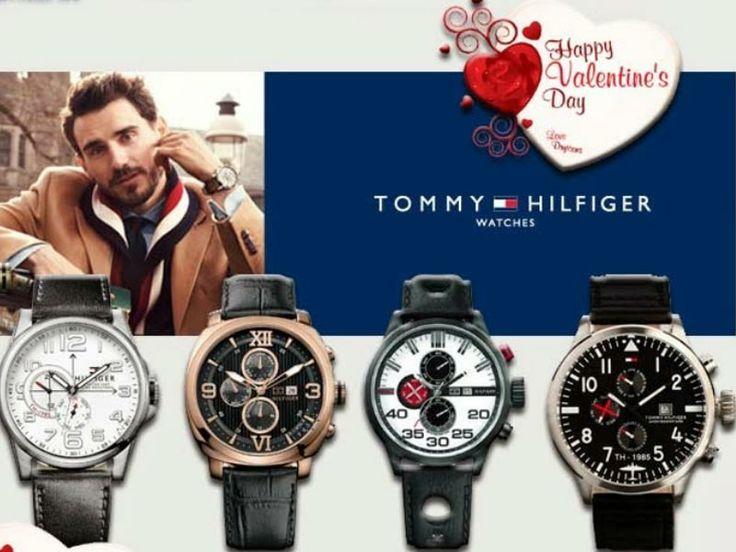 Ανδρικά και Γυναικεία ρολόγια Tommy HILFIGER!!! Επιλέξτε το δώρο σας για την ημέρα του Αγίου Βαλεντίνου μέσα από τη μεγάλη συλλογή ρολογιών Tommy HILFIGER!!! Δείτε όλη τη συλλογή εδώ: http://www.oroloi.gr/index.php?cPath=227