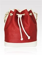Shine Bright Leather Handbag - www.niclaire.com.au #leather #handbag #ladieshandbag #metallicleather #fashion #totebag #tote #white #red #shoponline #niclaire