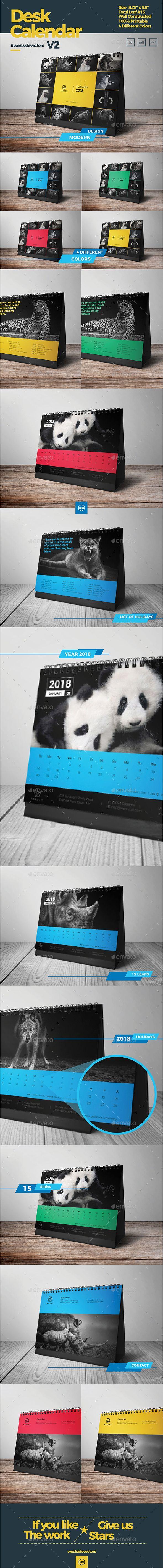 Desk Calendar by westsidevectors   GraphicRiver