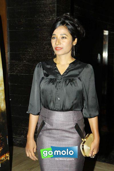 Tannishtha Chatterjee at the Premiere of Hindi movie 'Bhopal: A Prayer for Rain' in Mumbai
