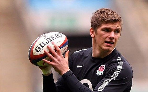 England fly-half Owen Farrell, one of the stand-out successes of this year's Six Nations Photo: GETTY IMAGES
