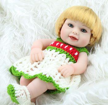 Aliexpress.com: Comprar Npk dulce bebé renacida muñeca llena del vinilo sonríen los bebés recién nacidos muñeca para las niñas 10 pulgadas clásico regalos de los niños de reloj de arena de juguete fiable proveedores en NPK Reborn Doll Nursery