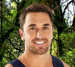 I'm a celebrity get me out of here Australia Tyson Mayr Network Ten