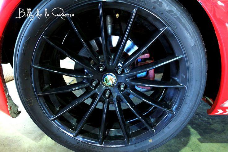 Alfa racing wheel