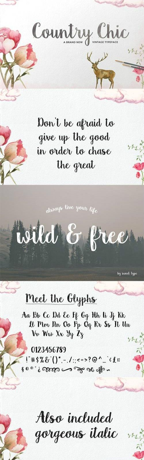 Country Chic Script