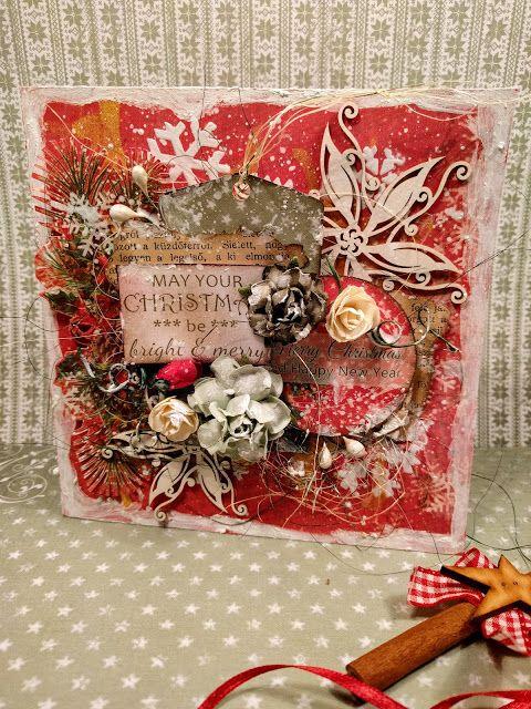 Blog studio75.pl: Merry & Bright Card by Virág