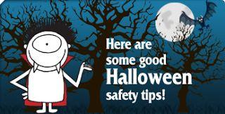 Halloween Safety Tips #Halloween