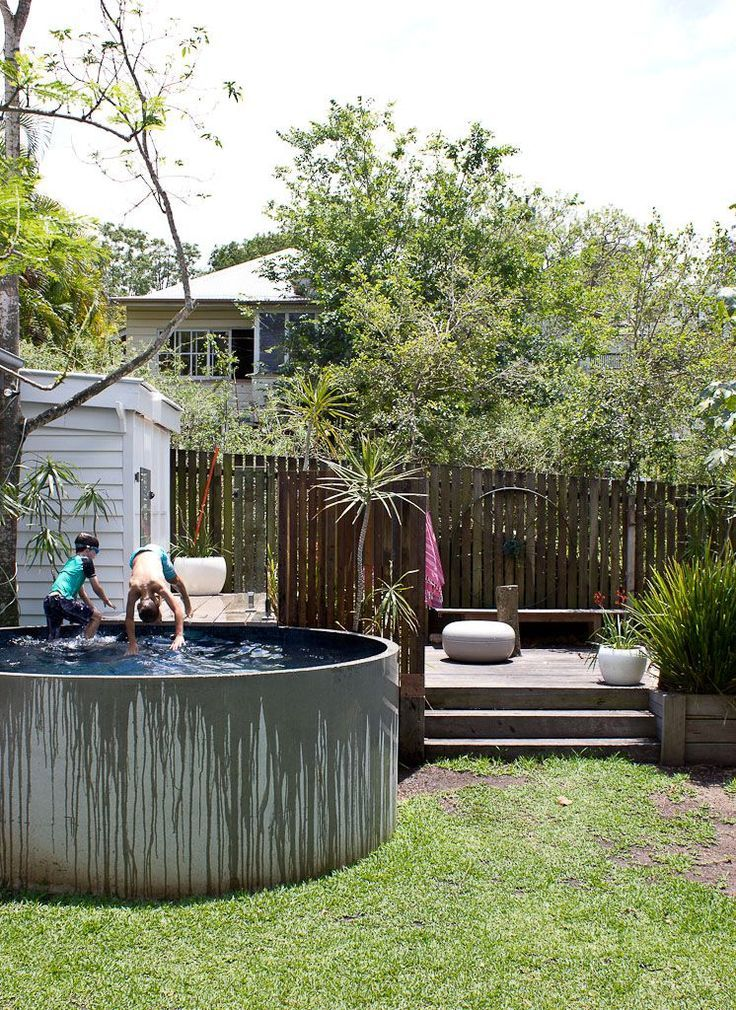 Concrete Pool on Pinterest | Gunite Pool, Exposed Aggregate and ...