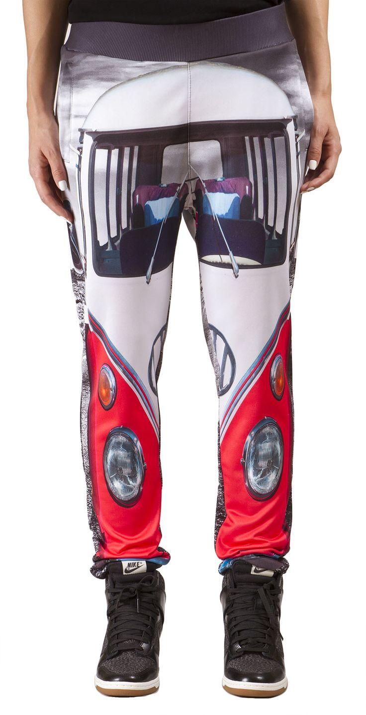 'Surf Van' women's printed sweatpants