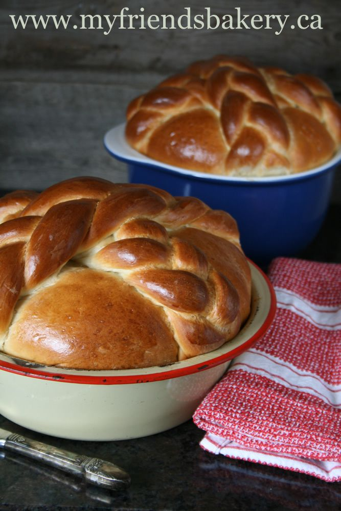 I Need That Recipe Only Once A Year Easter Paska Bread | My Friend's Bakery
