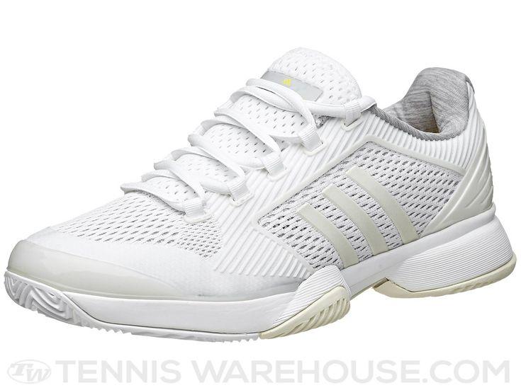 adidas Stella Barricade 2015 White/Yellow Women\u0027s Shoe