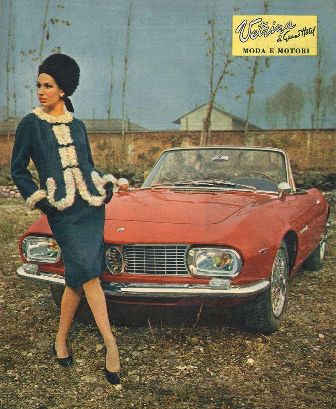 Le Grand Hotel Italian magazine feature! ALFA ROMEO and fashion!